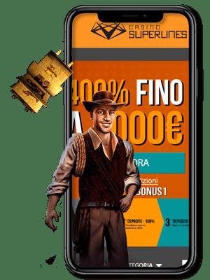 superlines casino mobile